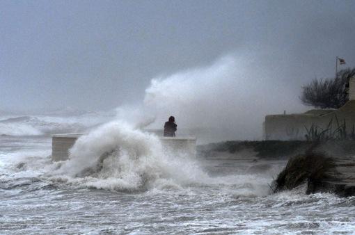 3 người thiệt mạng do bão Gloria tại Tây Ban Nha