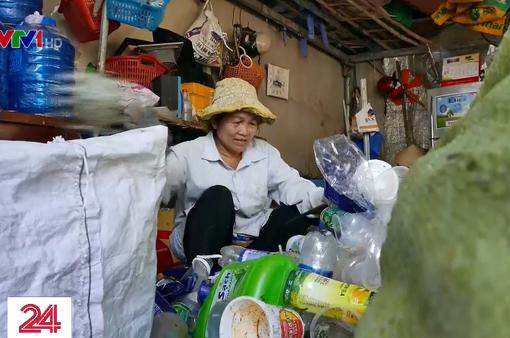 Tết của những người thu gom rác