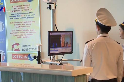 Bộ Y tế kiểm tra phòng dịch viêm phổi cấp tại sân bay