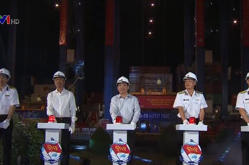 Phát lệnh làm hàng lô hàng đầu tiên tại cảng Tân Cảng Cát Lái