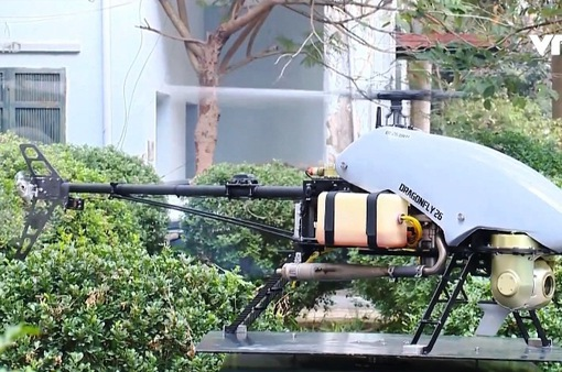 Việt Nam chế tạo thành công máy bay lên thẳng không người lái