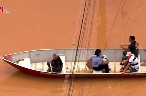 Lũ lụt nghiêm trọng tại Brazil, ít nhất 46 người thiệt mạng