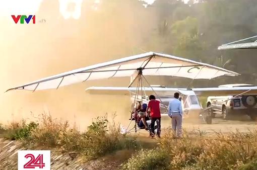 Việt Nam chế tạo thành công nhiều loại máy bay siêu nhẹ