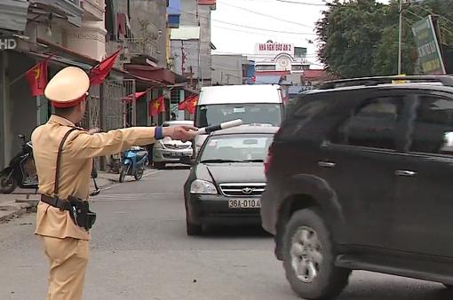Đảm bảo giao thông lễ hội chùa Hương