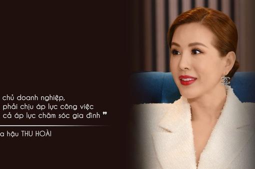 Hoa hậu Thu Hoài tiết lộ lý do yêu bạn trai kém 10 tuổi