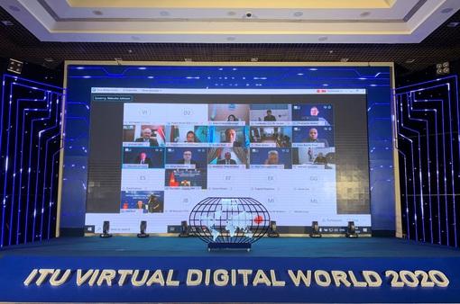 Hỗ trợ giải pháp công nghệ cho Hội nghị và Triển lãm Thế giới số - ITU Digital World 2020