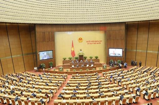 Quốc hội thảo luận dự thảo Luật Cư trú (sửa đổi) và Luật Biên phòng Việt Nam