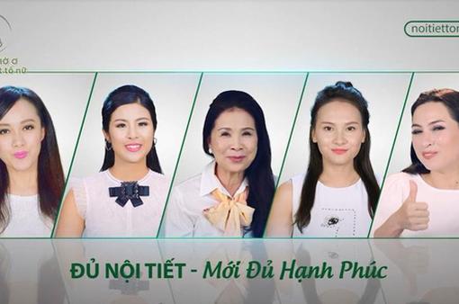 Diễn viên Hồng Diễm và loạt sao Việt chia sẻ cách kiểm tra nội tiết tố nữ ngay tại nhà