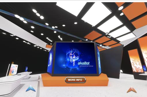AkaBot - nền tảng tự động hóa quy trình nghiệp vụ tham dự triển lãm ITU Digital World 2020
