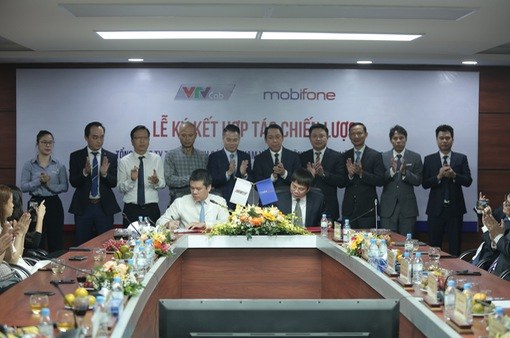 VTVcab và Mobifone ký kết hợp tác chiến lược toàn diện