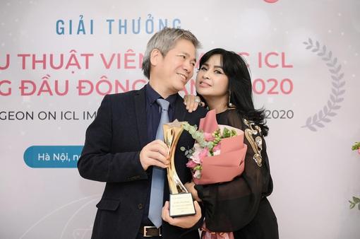 Bạn trai diva Thanh Lam nhận giải thưởng khủng, uy tín