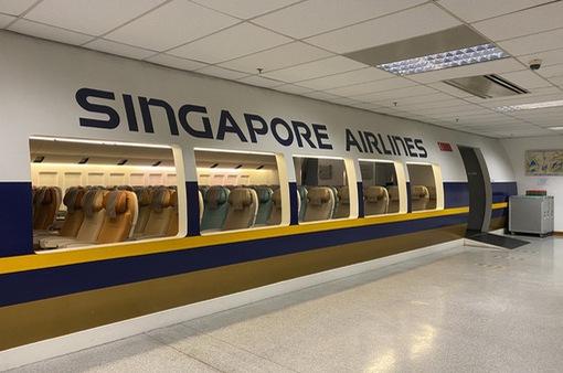 Nhà hàng dưới mặt đất của Singapore Airlines