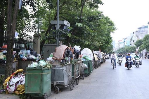 Từ 26/10, xử nghiêm xe chở rác không đảm bảo vệ sinh