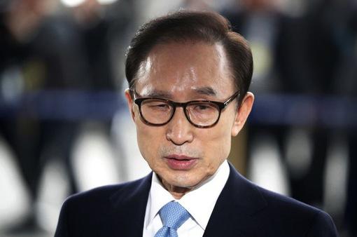 Giữ nguyên bản án 17 năm tù đối với cựu Tổng thống Hàn Quốc Lee Myung-bak