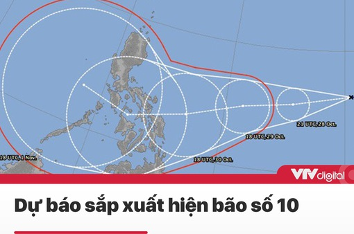 Tin nóng đầu ngày 29/10: Sau bão số 9, dự báo sắp xuất hiện bão số 10