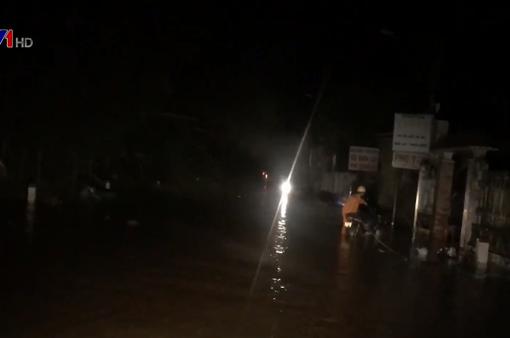 Quảng Ngãi ngập lụt trên diện rộng
