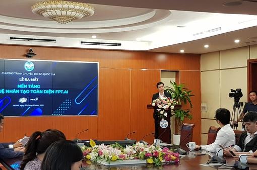 """FPT.Ai - Nền tảng trí tuệ nhân tạo """"Make in Vietnam"""" thứ hai ra mắt"""
