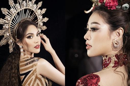 Lan Khuê, Khánh Vân mở màn ấn tượng tại Vietnam Runway Fashion Week