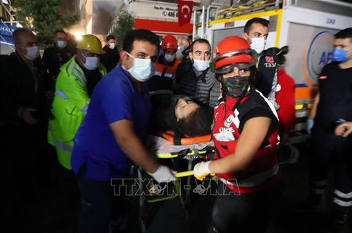 Động đất tại Thổ Nhĩ Kỳ và Hy Lạp: Thêm nhiều nạn nhân thương vong