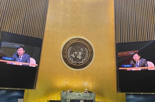 Thông qua Nghị quyết về hợp tác ASEAN-LHQ do Việt Nam thay mặt ASEAN chủ trì đề xuất