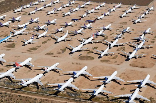 COVID-19 đe dọa đến sự tồn vong ngành hàng không