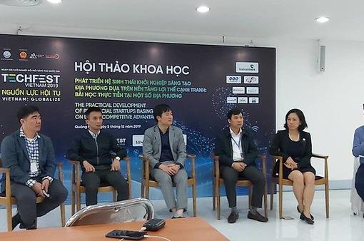 Làng địa phương - Nơi quy tụ các startup xuất sắc nhất từ các vùng miền của Techfest Vietnam 2020