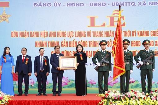 Xã Ninh Hiệp - đơn vị Anh hùng lực lượng vũ trang nhân dân