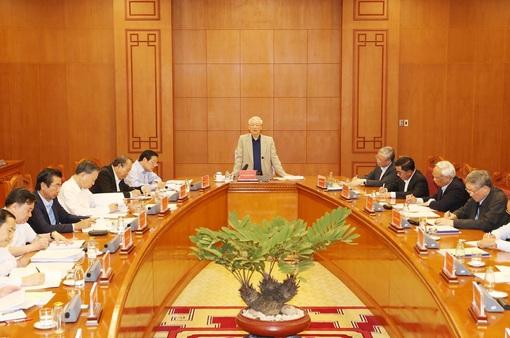 Thường trực BCĐTW về phòng, chống tham nhũng đề nghị khẩn trương xét xử 5 vụ án trọng điểm