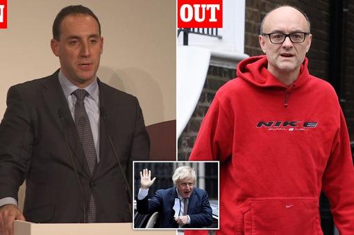 Thủ tướng Anh bổ nhiệm Chánh Văn phòng Nội các mới