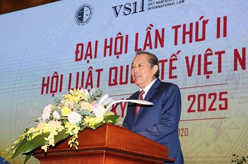 Sự ra đời của Hội Luật quốc tế Việt Nam đáp ứng nhu cầu và nguyện vọng của đông đảo nhân dân