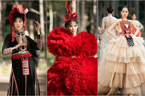 Mãn nhãn với sàn diễn thời trang giữa rừng thông Đăk Nông