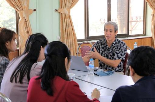 Đoàn công tác Đài THVN tổ chức tập huấn chuẩn bị cho LHTHTQ lần thứ 40 tại Ninh Bình