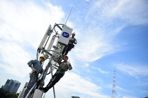 Thử nghiệm mạng 5G của MobiFone đạt tốc độ 600-800 Mbps