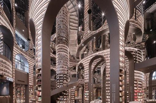 Ngỡ ngàng, tiệm sách như bước ra từ thế giới phù thủy Harry Potter