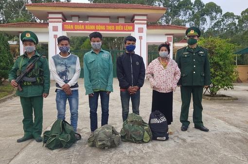 Điện Biên: Bắt giữ 4 đối tượng nhập cảnh trái phép