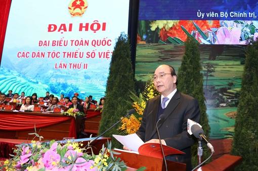Thủ tướng Nguyễn Xuân Phúc: Cơ đồ đất nước mãi thuộc về cộng đồng các dân tộc Việt Nam