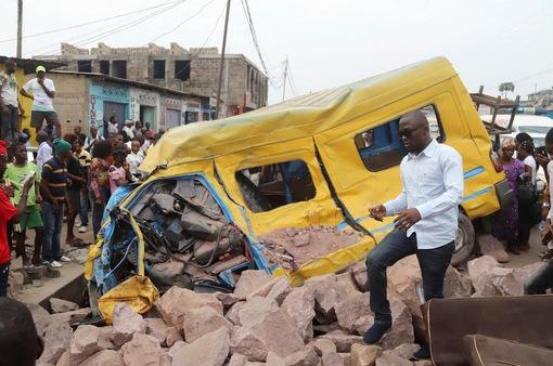 Tai nạn nghiêm trọng tại Congo, ít nhất 14 người thiệt mạng