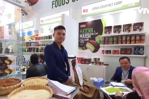 20 DN nông sản Việt Nam tham gia hội chợ lương thực thực phẩm tại Dubai