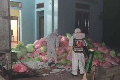 Bắt giữ cơ sở thu gom 620 kg khẩu trang y tế đã qua sử dụng