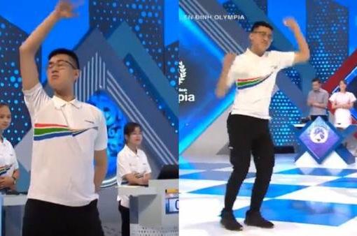 """Nam sinh Yên Bái nhảy Kpop siêu dẻo ở """"Đường lên đỉnh Olympia"""""""