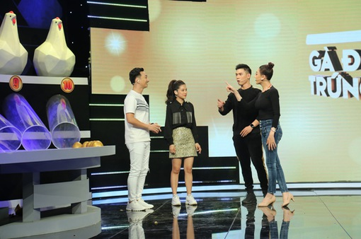 """Gà đẻ trứng vàng -Tập 14: MC Thành Trung thừa nhận bị """"lú lẫn"""" vì sắc đẹp của Lâm Khánh Chi"""