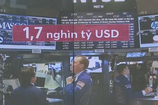 COVID-19 khiến thị trường chứng khoán Mỹ bốc hơi 1,7 nghìn tỷ USD