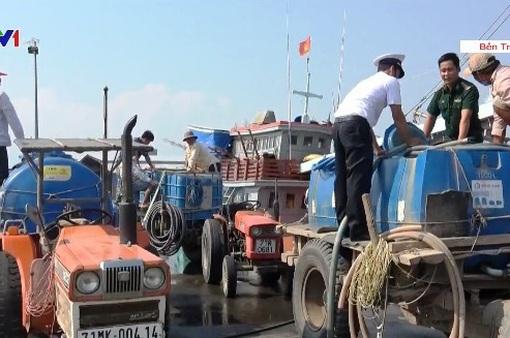 Nỗ lực đưa nước ngọt về vùng hạn mặn ở Bến Tre