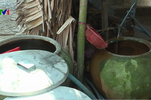 Trà Vinh thiếu nước sạch sinh hoạt do hạn mặn