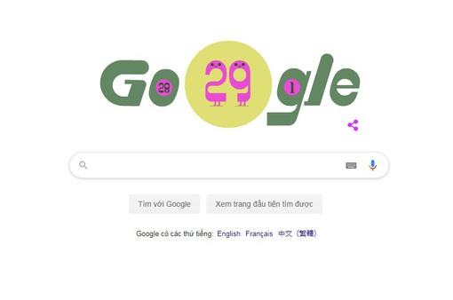 Google kỷ niệm năm nhuận 2020 với doodle mới