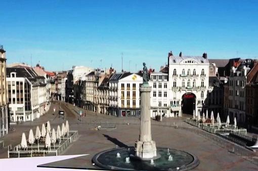 Thành phố Lille (Pháp) dưới góc quay flycam
