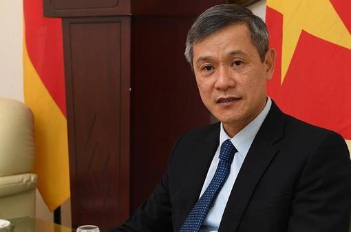 Đại sứ quán Việt Nam tại Đức cùng cộng đồng nỗ lực vượt đại dịch COVID-19
