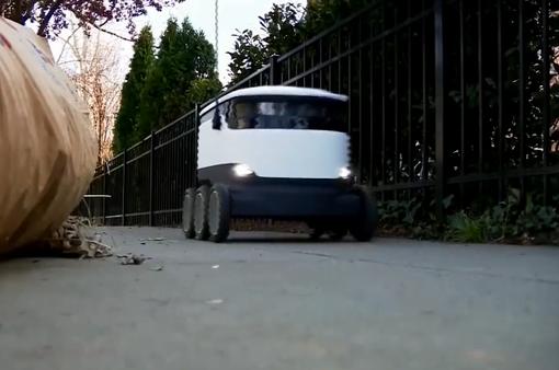 Robot - Shipper đặc biệt thời COVID-19