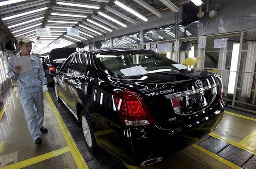 Toyota kéo dài thời gian ngừng hoạt động tại châu Âu