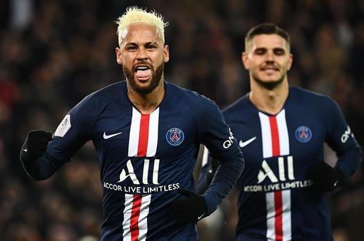 Nguy cơ mất vô địch Ligue 1, PSG lại gặp bất lợi ở Champions League